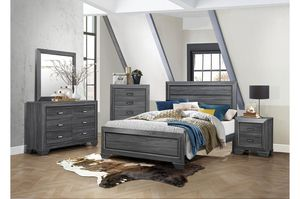 New 4pc queen size bedroom set tax included free delivery for Sale in San Lorenzo, CA