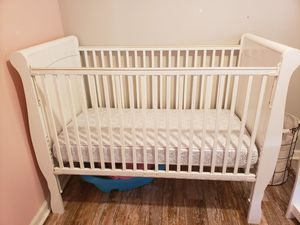 White Crib, Changing Table & Armoire Set for Sale in San Diego, CA