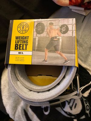 GOLDS GYM Weight Lifting Belt for Sale in Buena Park, CA
