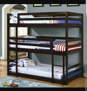 triple bunk bed twin twin twin for Sale in New York, NY