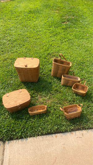 Longaberger baskets for Sale in Coronado, CA