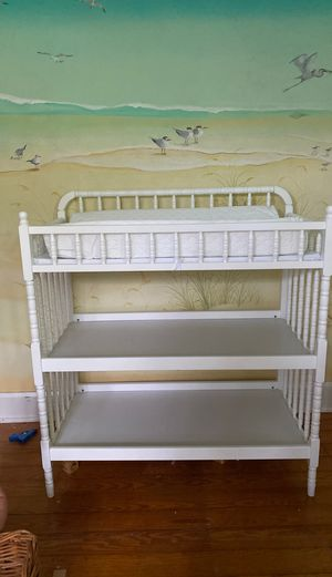 Changing changing table plus pad for Sale in Clearwater, FL
