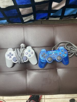 PlayStation Controllers (DualShock 2) for Sale in Houston, TX