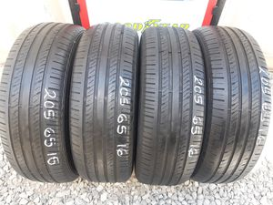 4 USED TIRES 205 65 16 STARFIRE 80% TREAD $150 ALL 4 INSTALLED AND BALANCED for Sale in San Diego, CA