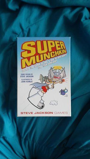 Super Munckin Card Game for Sale in Spokane Valley, WA