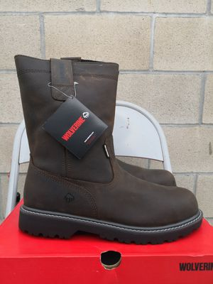Brand new wolverine steel toe work boots size 8, 9.5 and 10.5 for Sale in Riverside, CA