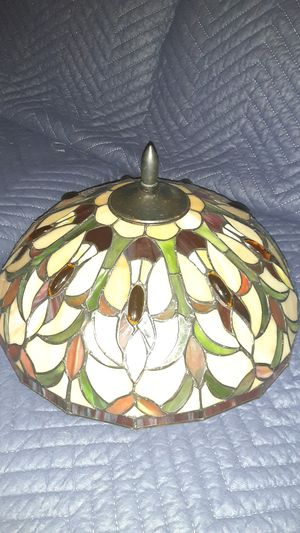 Colorful Stained Glass Lamp vintage for Sale in Lowell, MA
