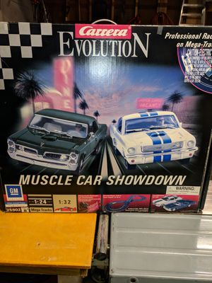 Carrera Evolution Slot Car Set for Sale in Lynnwood, WA