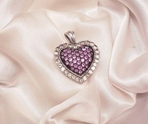 Pink sapphire pendant from Zales for Sale in Frisco, TX