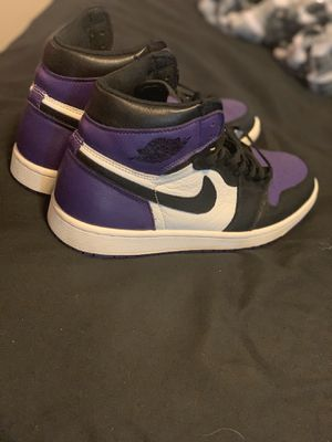 Court purple and pine green Jordan 1 for Sale in Denton, TX