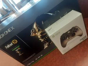 XBOX ONE X SYSTEM 1TB (NO TRADES) for Sale in Aurora, CO