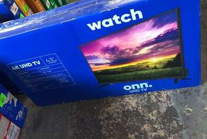 "ONN 43"" 4K Tv 4A for Sale in Los Angeles, CA"