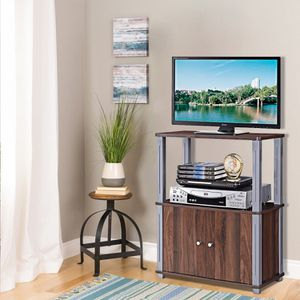 Wood TV Stand Storage Cabinet Display Shelves Entertainment DVD CD Player Rack for Sale in Sacramento, CA