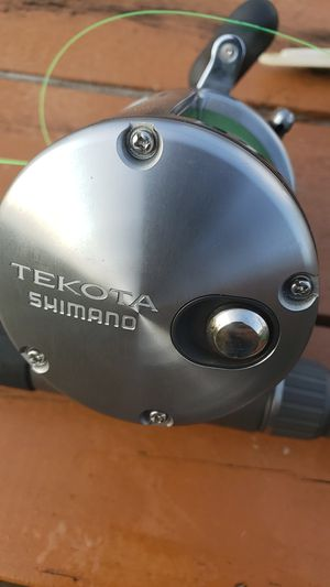 Shimano tekota 800 reel on tallus 6foot 6inch rod for Sale in Suffolk, VA