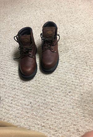 Steel toe work boots for Sale in Brunswick, OH