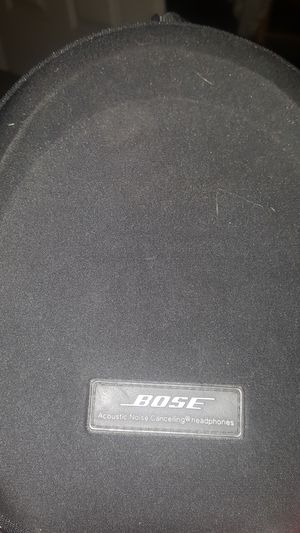 Bose Quiet Comfort 15 noise cancelling headphones case for Sale in Portland, OR
