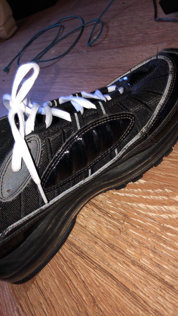 Nike Max 98 Supreme black reflective