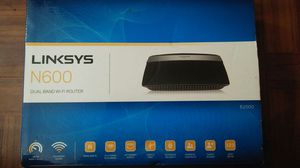 Linksys router N600 new open box for Sale in Sebring, FL