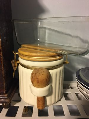 Ceramic kitchen canister for Sale in Worcester, MA
