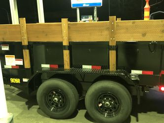10 K 6x10 Dump Trailer for Sale in Bothell,  WA