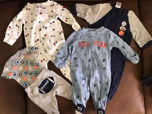 Sports Onesie Sleeper Set for Sale in Chandler, AZ