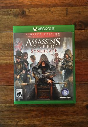 Assassin's Creed Syndicate - Xbox One Game for Sale in Everett, WA