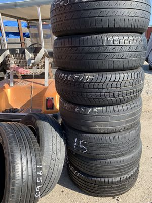 195-65–15 good tires for $13 dollars each! for Sale in Rancho Cucamonga, CA