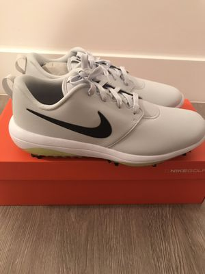 Nike mens golf shoes roshe g pure platinum for Sale in Pompano Beach, FL
