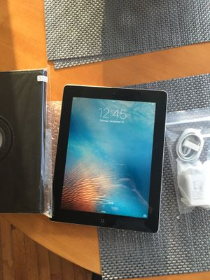 Apple IPad 2 with New case and New Charger for Sale in Farmville, VA