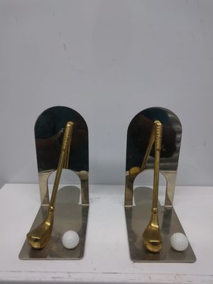 Vintage golf bookends for Sale in Grayson, GA
