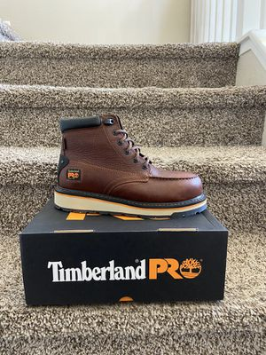 Timberland Pro work boot with safety toe/Bota de trabajo Timberland Pro con casquillo for Sale in Highland, CA