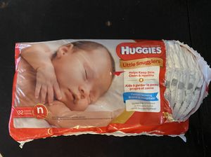 Huggies newborn diapers for Sale in Allen Park, MI