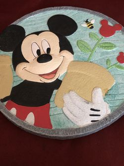 Mickey Mouse Garden Stepping Stone for Sale in Washington,  DC