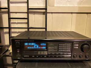 Onkyo TX-904 + Infinity Reference Three Speakers for Sale in Dublin, OH