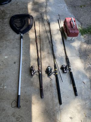 Fishing rods for Sale in Bloomfield Hills, MI