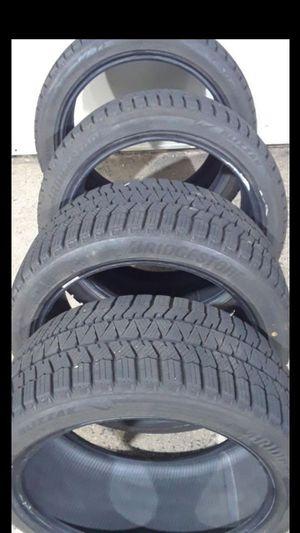 4 Newer Bridgestone Blizzak ws90 245/40R18 for Sale in Fairfax, VA