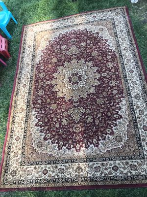 """courastan area rug 5'3"""" by 7'6"""" for Sale in Bolingbrook, IL"""