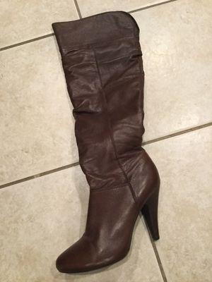 ALDO mocha high zipper boots for Sale in San Diego, CA
