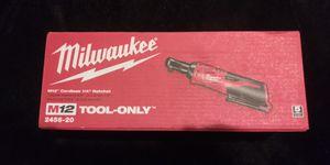 "Milwaukee 1/4"" ratchet for Sale in Springfield, VA"