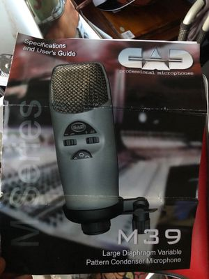 CAD M39 Condenser Multi Pattern Mic for Sale in San Diego, CA
