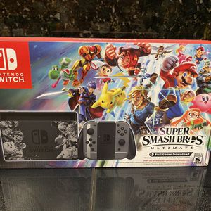 Nintendo Switch Super Smash Bros. Ultimate Edition for Sale in Fort Lauderdale, FL