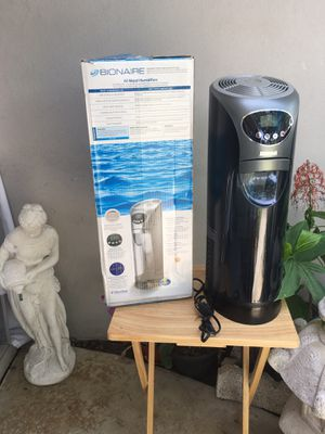 Bionaire Cool Moisture Humidifier Purified Mist for Sale in Clearwater, FL