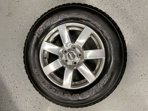 Set of 4 wheels for 18 Jeep Wrangler | Tires+rims for Sale in Springfield Township, NJ