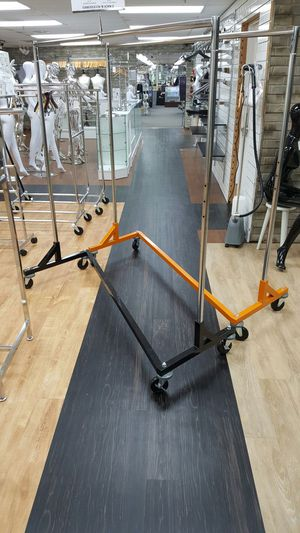 Used, Black and chrome and orange and Chrome z racks for Sale for sale  Atlanta, GA