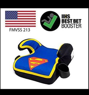 Superman backless car seat for Sale in Riverbank, CA