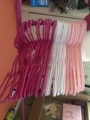 Baby girl hangers for Sale in Manassas, VA