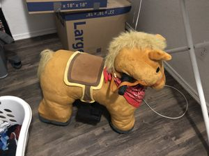 Battery operated horse for toddler for Sale in Fort Worth, TX