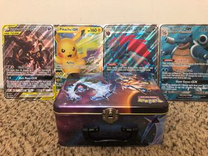 Pokemon Cards Collection + Lunchbox for Sale in Denver, CO
