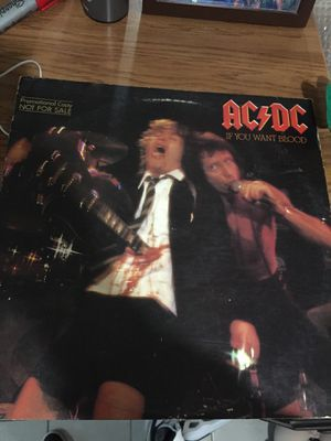 AC/DC (If you want Blood Vinyl ) for Sale in Pomona, CA