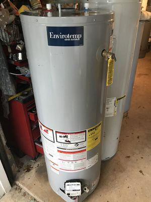 2017 Envirotemp 40 gallon tall gas hot water heater. Can be installed and delivered for a fee. Works great for Sale in Philadelphia, PA